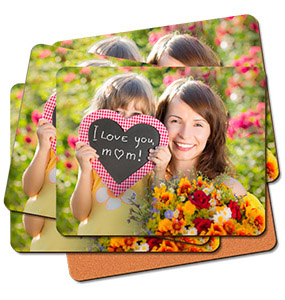 Set of six placemats with single image