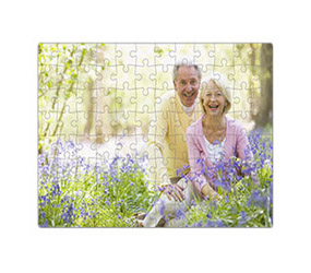 10 x 8 inches personalised photo jigsaw