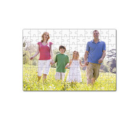 7 x 5 inches personalised photo jigsaw