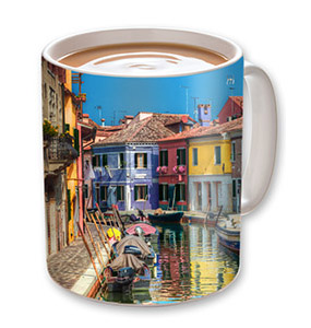 large ceramic picture gift mug